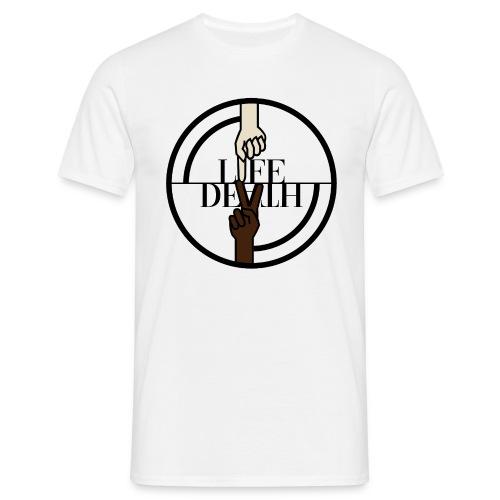 Original Life//Death 2018 logo - Mannen T-shirt