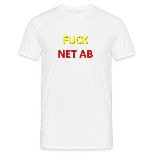 FUCK NET AB - Männer T-Shirt
