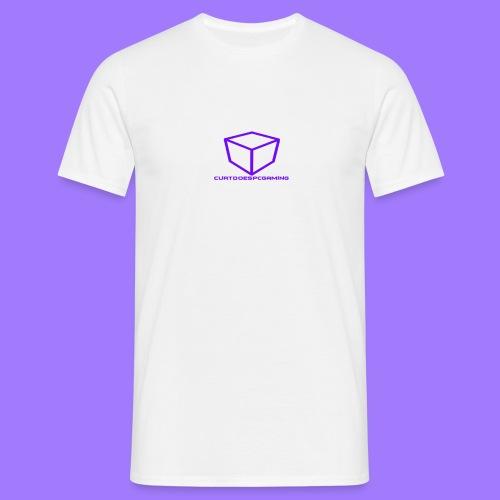 curtdoespcgaming logo #2 - Men's T-Shirt