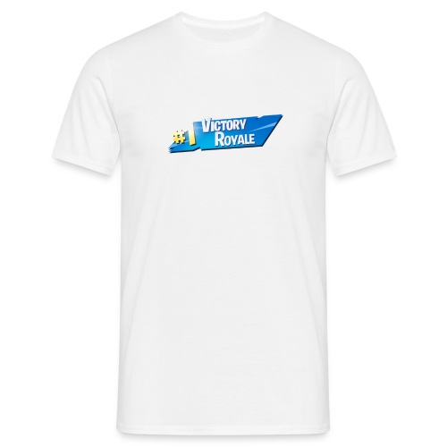 Victory Royale #1 - Herre-T-shirt