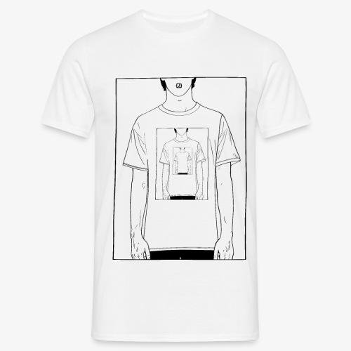 Recursion | Loop | Repeat design | Be creative - Men's T-Shirt