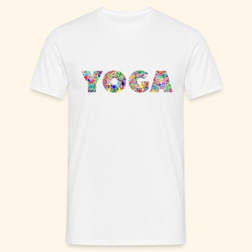yoga - Männer T-Shirt