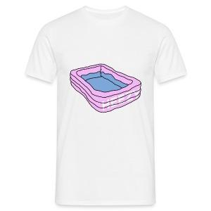 zwembad - Mannen T-shirt
