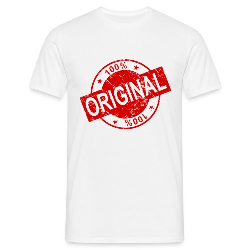 100 percent original - Men's T-Shirt