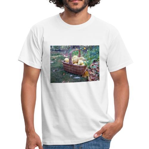 Quitten-Korb - Männer T-Shirt