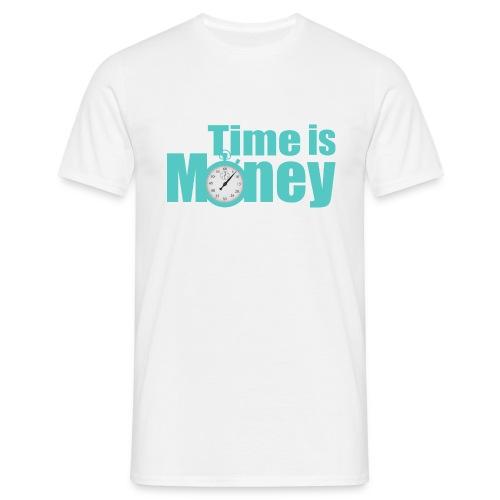 Zeit ist Geld - Männer T-Shirt