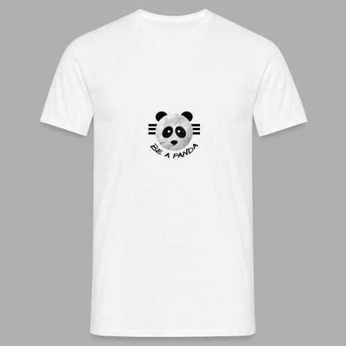 be a pandaa - Männer T-Shirt
