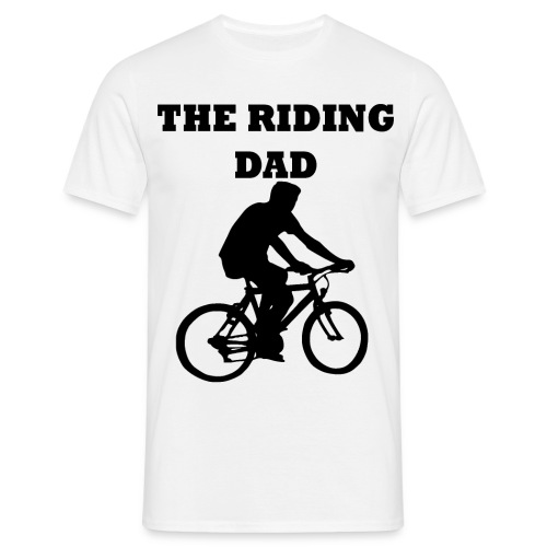 The riding dad T-Shirt - Männer T-Shirt