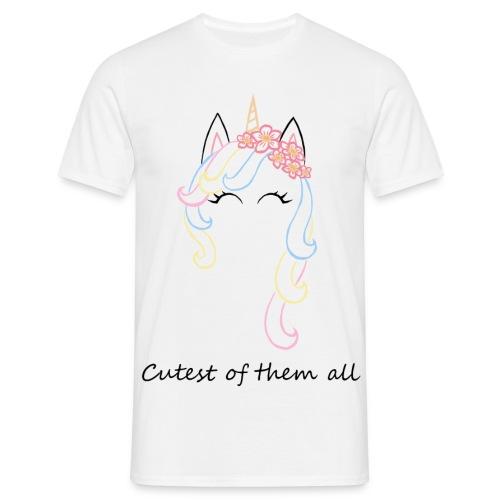 Cutest unicorn - Camiseta hombre