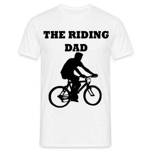 The riding dad T-Shirt - Männer T-Shirt
