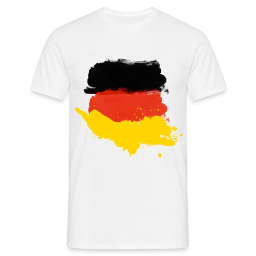 German flag shirt01 - Männer T-Shirt