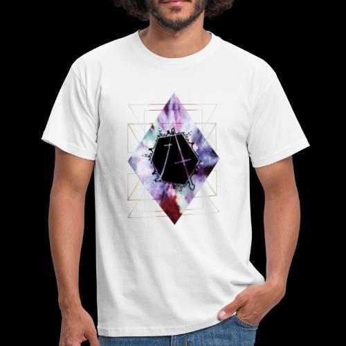 Geometric Logo - Men's T-Shirt