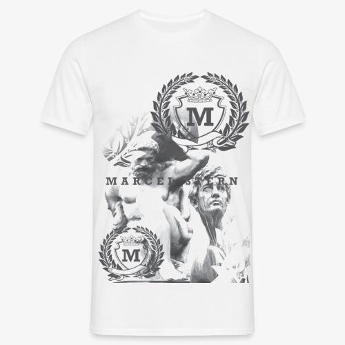 Statue2 1 - Mannen T-shirt