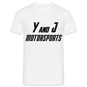 Y and J Motorsports Logo - Männer T-Shirt