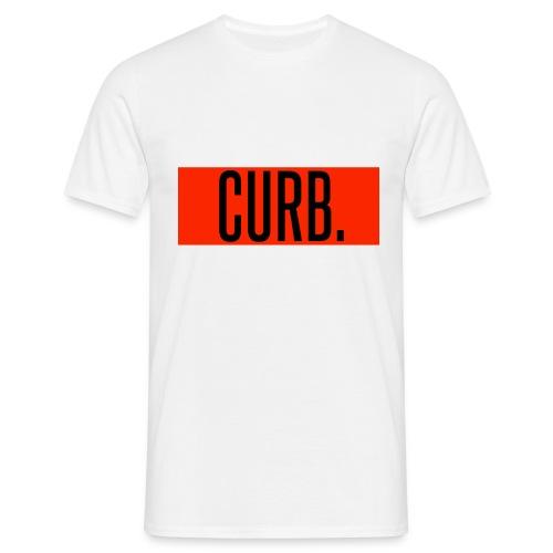 CURB red - Männer T-Shirt