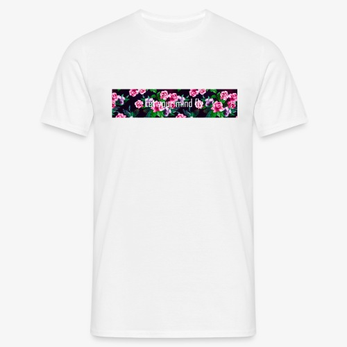 Let your mind fly - T-skjorte for menn