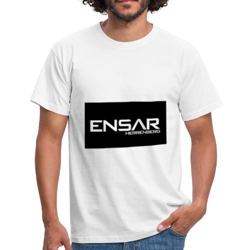 ensar schwarz - Männer T-Shirt
