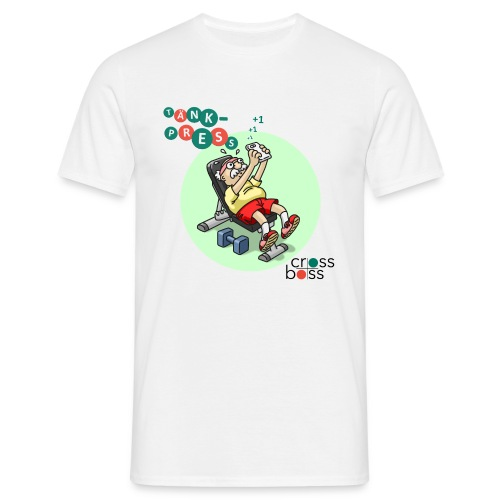 Tänkpress (ljus bakgrund) - T-shirt herr
