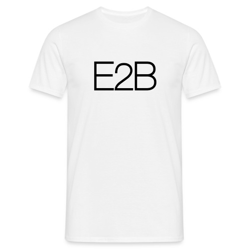 E2B - T-skjorte for menn