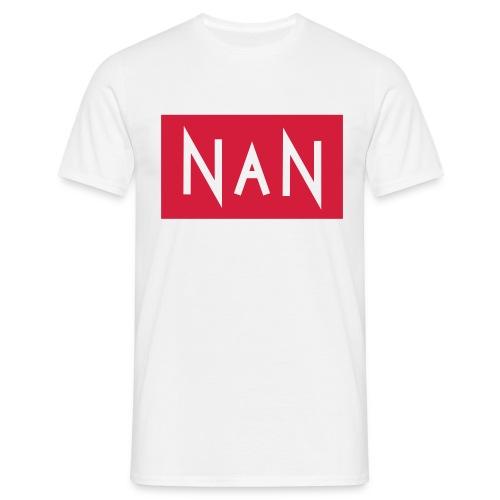 NaN | Not a Number - Mannen T-shirt