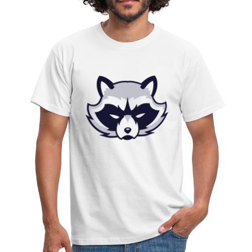 Waschbär - Männer T-Shirt