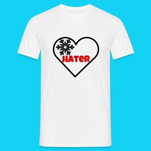 EinHerzfürHater - Männer T-Shirt