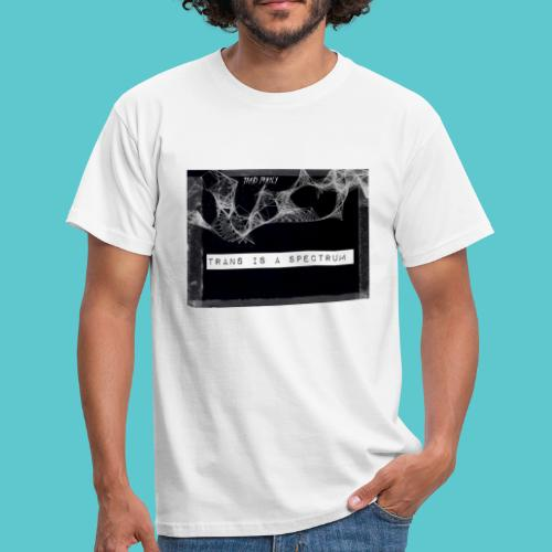 Trans is a spectrum - Men's T-Shirt