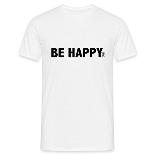 Be Happy - Mannen T-shirt