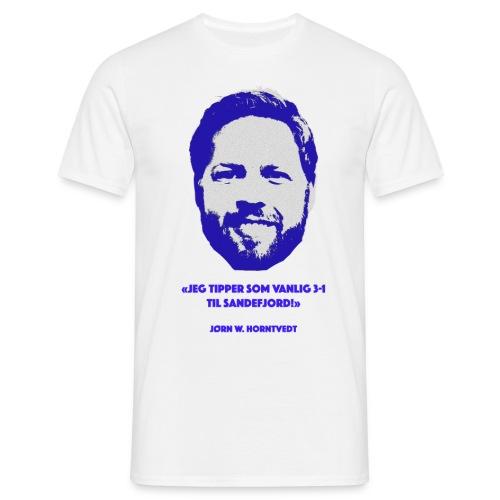 Horntvedt - T-skjorte for menn