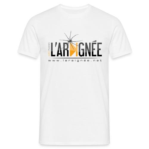 L'ARAIGNÉE, logo noir - T-shirt Homme