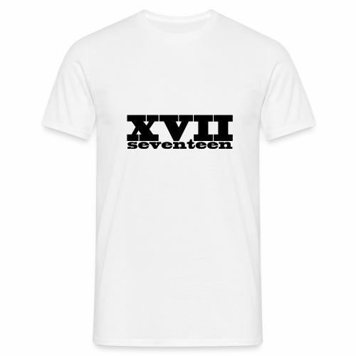 xvii - Mannen T-shirt