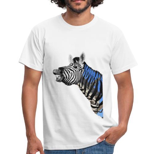 zebre un jour - T-shirt Homme