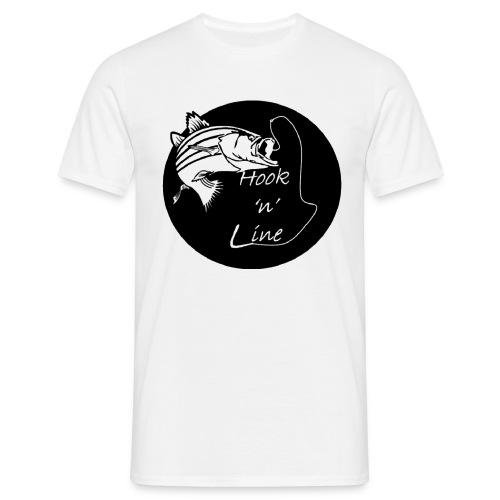 Hooknline original logo - Men's T-Shirt