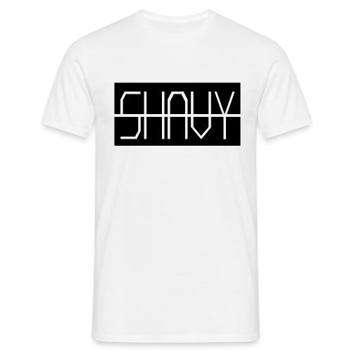 Shavy Rechteck Design black - Männer T-Shirt