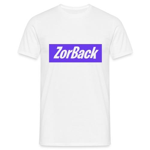 ZorBack - Logo Violet - T-shirt Homme