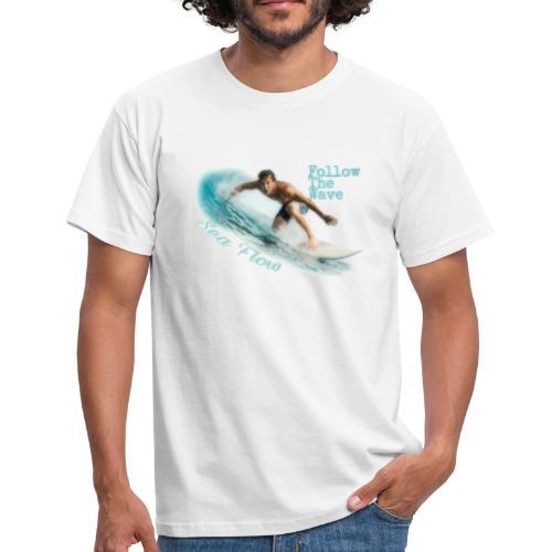Follow The Wave Man - Maglietta da uomo