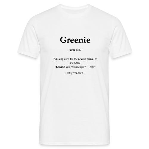 Greenie - Männer T-Shirt