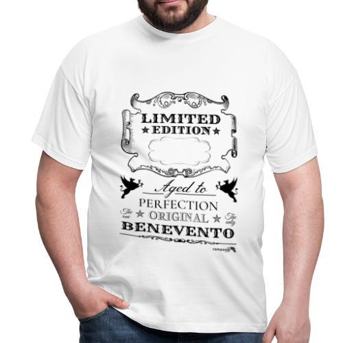 1.01 Invecchiato per Perf. BN (Inserisci anno al centro) - Maglietta da uomo