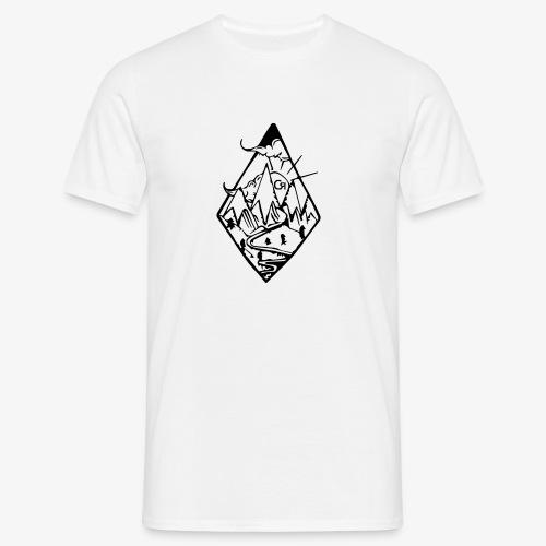 losange cr - T-shirt Homme