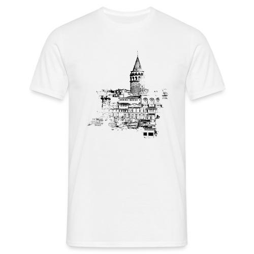 istanbul black - Männer T-Shirt