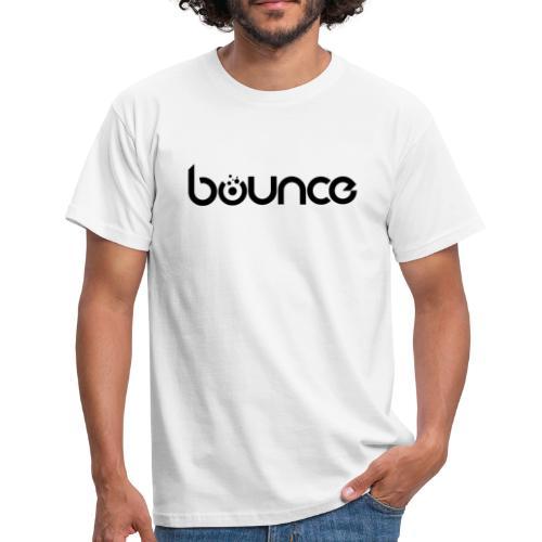 Bounce Black - Männer T-Shirt