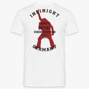 Infinight College headbanger hell red - Männer T-Shirt