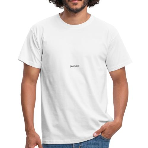 jaccuse - Männer T-Shirt