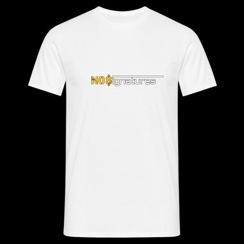 N0$ignatures (nessuna firma) - Maglietta da uomo