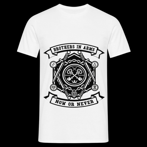 Brothers In Arms - Now or Never - Männer T-Shirt
