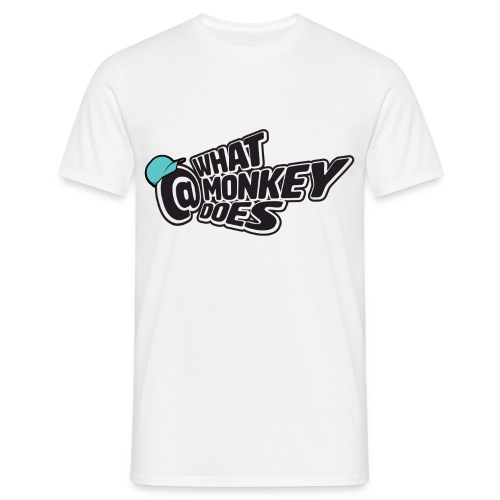 What Monkey Does Instagram Logo - Men's T-Shirt