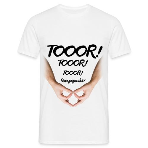 Tor Reingeguckt - Männer T-Shirt