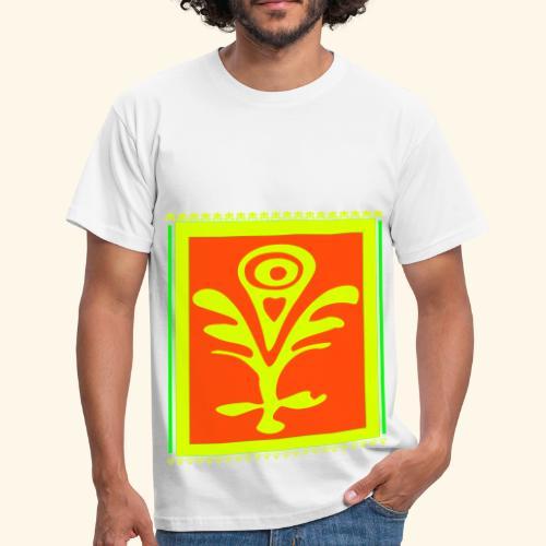 Neon Design - Männer T-Shirt