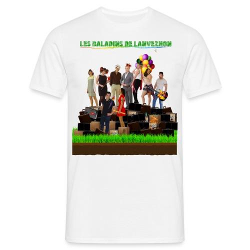 CRAZY LANVEZHON - T-shirt Homme