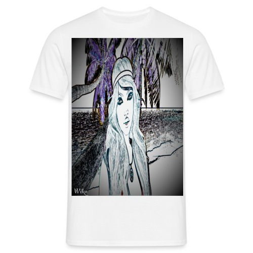 Mein foto aus Second life Pster 1 - Männer T-Shirt